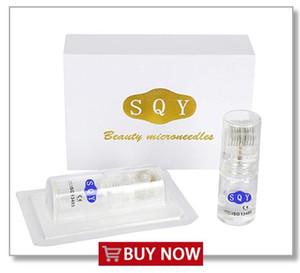 SQY Gold Rolle Nano Microneedle MTS Water-light Micro-ago Bellezza Micro-ago Acne Lentiggine Rughe Non invasivo Gestione della pelle indolore