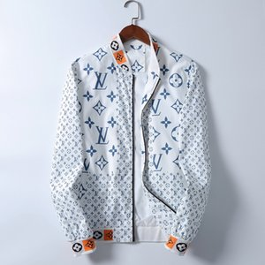 2020 Men's designer Jacket Mens Windbreaker Long Sleeve Plus Mens Jackets Zipper Pocket Men Casual Hoodie Coat Tiger bee Casual Jackets