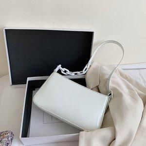 Pelle Donna Armpit PU Bag Borsa da spalla piccola Ladys Moda Elegante spalla borse femminili Corpo Viaggi Cross