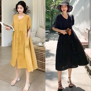 2020 New Maternity Dresses Pregnant Clothes Summer Maternity Dress Woman A-Line Large Size Dresses Pregnant Woman Clothing