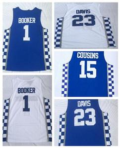 كنتاكي كلية مروحة البلوزات كرة السلة، 1 BOOKER 3 أديبايو 15 COUSINS 0 FOX 12 القرآن 4 BAMBA 42 HOWARD 23 DAVIS كرة السلة يرتدي الملابس