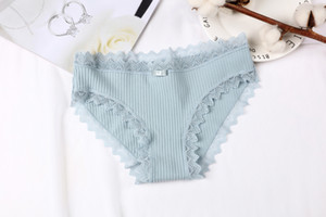 2020 Hot Sale Women Seamless Lace Briefs Panties Fashion New Ladies Thongs Underwear Knickers