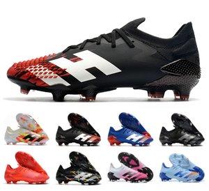 جديد المفترس 18+ FG PP بول بوجبا كرة القدم 18 + س غوشا المرابط الانزلاق على أحذية كرة القدم للرجال عالية أعلى أحذية كرة القدم رخيصة