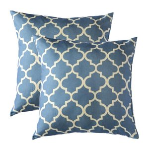 Pillow Case 2 Pack Decorative Throw Pillows Wholesales Pillows cushion grey blue green Cushion cover Home Decorative Y200104