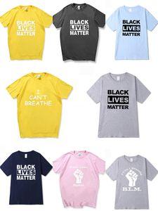 I Cant Breathe Klassisches Tricolor T-Shirt Kurzarm Net Red Stree Shortsleeved Paar Students Herren Designer-T-Shirts Hoodie # 790