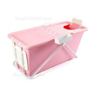 European adult folding portable insulation bathtub adult inflatable bathtub plastic bath tub grade non-toxic soft material