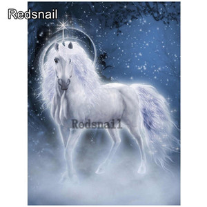 5d embroidery Unicorn animal rhinestone puzzle Diy diamond painting Full diamant mosaic stitch cross Home home decor gifts TT274