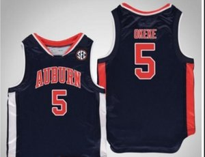 Donna-Uomo della gioventù Vintage tigri Chuma Okeke # 5 College Basketball Jersey il formato S-4XL o personalizzato qualsiasi nome o numero di maglia