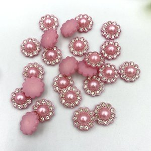 30Pcs Diy Beads With Point Drills Decoration Crafts Flatback Cabochon Scrapbooking Fit Hair Clips Embellishments Beads B56 iGneu