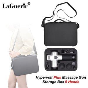 Fáscia Gun Caixa de armazenamento for Massage Gun impermeável ombro saco portátil Carry Case 5 Massagem de Relaxamento Chefes Muscle