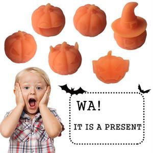 pudcoco Neueste Produkte Hot Halloween Squishy Kawaii Kürbis Langsam Rising Squeeze Stress Relief Soft-lustiges Spielzeug-Geschenk