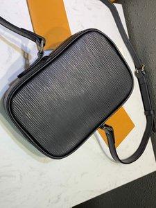 2019 Preto Cruz Corpo Mini Bolsa De Ombro Danúbio RARE Pop-Up Nova Crossbody Moda Sacos de Dinheiro Da Carteira das Mulheres M55120