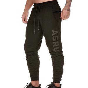 Men Primavera Outono ASRV New Casual calças compridas Esportes solta respirável impressão AV Calças masculinas treinamento Tamanho M-3XL
