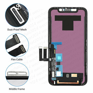 50PCS OEM LCD Display Touch Screen Digitizer Assembly Replacement Parts for iPhone 11 free DHL