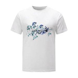 Mens Designer T Shirt Men Women Streetwear Casual High Street Tshirt Cotton Couple Top Tees RHUDE T-shirts