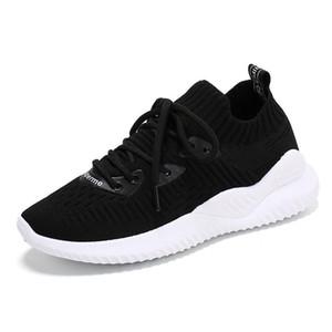 scarpe nuove donne 2019 volare tessuto Suola piccole scarpe bianche delle donne del singolo appartamento INS sport del fuoco per il tempo libero delle donne