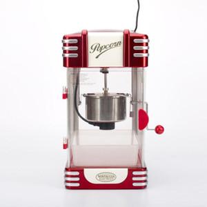 2020 sıcak 220V Popcorn Makinası Mini Ev Otomatik Sıcak Yağ Popcorn Maker Hızlı Isıtma ile Yapışmaz Tencere