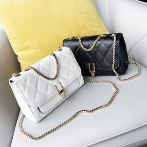 Suture 2020 Korean version of the single shoulder diagonal female bag small bag tide small fragrance wind diamond chain bag A30