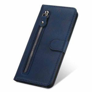Carteira PU couro caso do iPhone 7 8 Moda Zipper Para suporte Virar Capa para iPhone X XS XR Max 11 Pro 5.8inch Mobile Phone Bag