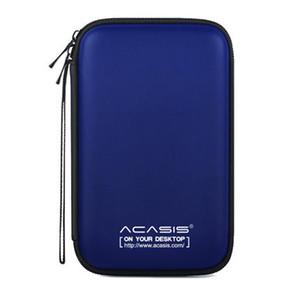Acasis 2,5 polegadas rígido externo portátil Proteção Bag EVA Waterproof Camada tampão dupla HDD caso do protetor