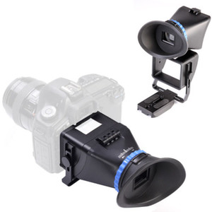 """Freeshipping Universal 3.0X LCD Viewfinder 3 """"-3.2"""" Per CANON Nikon Sony Olympus DSLR Telecamere"""