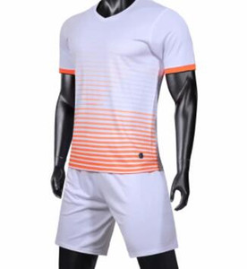 reversível terno Football bordo luz adulto Custom Logo mais o número Conjuntos de Futebol online com shorts personalizadas Uniformes kits Sports