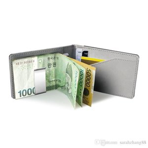 Slim Bifold Wallet with Money Clip Finest Faux Leather Minimalist Pocket Credit Card Holder For Men or Women