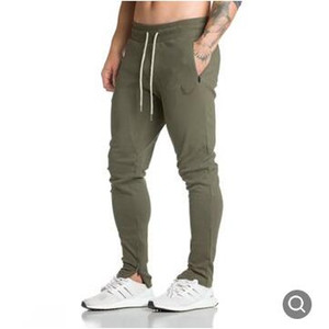 New Fashion Men Full Sportswear Pants Casual Elastic Mens Fitness Workout Pants Skinny Sweatpants Trousers Jogger Pants