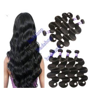 페루 인간의 머리카락 브라질 처녀 헤어 바디 웨이브 더블 씨실과 염색 인간의 머리 확장 3 번들 자연 색상