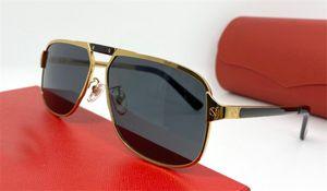 new fashion designer sunglasses 0102 retro square metal frame vintage popular design style top quality uv400 outdoor eyewear with box