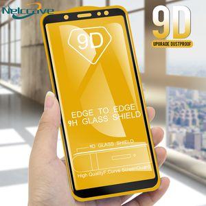 A +++ 100PCS trempé protection d'écran en verre pour Samsung Galaxy J6 J7 J8 + + J2 J4 noyau Pro film protecteur