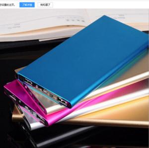 Banca di potere batteria mobile 12000mAh batteria esterna Powerbank Tablet PC caricabatterie del telefono cellulare Potenza Banche cablce usb con la scatola di vendita al dettaglio