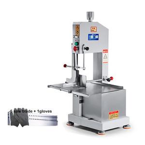 BEIJAMEI Ticari Kemik testeresi makinesi 1500 W Et kemik Kesme Makinesi Dondurulmuş et kemik kesici