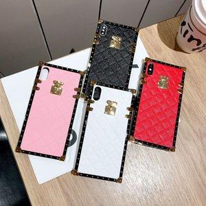 Luxe Designer Phone Cases Iphone 11 Pro Max 6 7 8 Plus Anti-chute Housse de protection Designer Iphone Case X Xr 2020 Nouveau mode