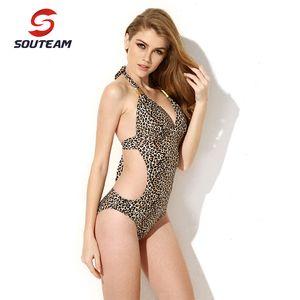 SOUTEAM 2020 Mulheres One Piece Swimsuit Sexy natação brasileira One Piece Praia SwimwearBathing Suit # S16WY7001 # S16WY6001