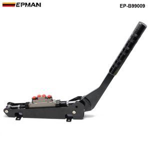 EPMAN Freno a mano idraulico universale del freno a mano del freno a doppio freno di freno della pompa a doppia frizione idraulica universale EP-B99009 per auto da corsa EP-B99009