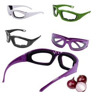 2020 NEW Anti-spicy Onion Cutting Goggles Anti-splash Protective Glasses Eye Protector Kitchen Gadget 4 Colors for Chef Best Gifts