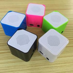 Scheda audio 50pcs il nuovo mini altoparlante esterno Piazza MP3 Blocco Voice Player Mp3 di sport Walkman altoparlante portatile EL386