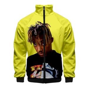 10 Styles Mens Designer Jackets americano Rap Cantor Juice WRLD gola da camisola jaqueta de moleton com capuz Roupa Moda High Street