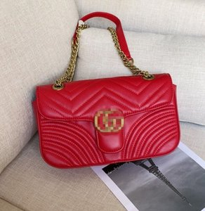 4 colors Women shoulder bags women chain crossbody bag fashion quilted heart leather handbags female famous gûccì designer purse bag