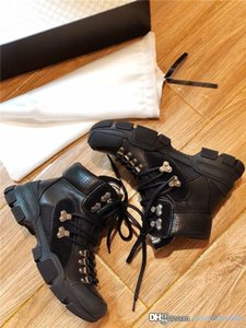 Мужские женские Flashtrek кроссовки, Moutain обувь кроссовки для зимнего сезона негабаритных сапоги с жесткой резиновой подошвой с коробкой 35-45
