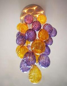 Moderna Cheap Colorful Bubble Glass Chandelier Lighting Balloon lampade a sospensione con catena / UL Certificato CE della luce a LED Lampade a sospensione