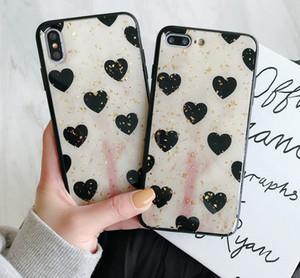 Cute Love Shape Hard TPU Case For iPhone XS XR XS MAX Case For iPhone X 6 6S 7 8 Plus Case Good Quallity