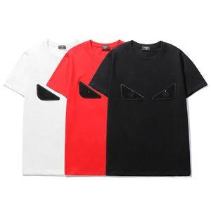 Luxuryshirt Hombres tapa de la manera camisetas de verano para hombre designershirts Ojos bordado camisetas de los tops casuales caliente de las mujeres camisas del tamaño S-2XL 2020791K