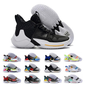 Vendita poco costosa Why Not Zero 2.0 PE di pallacanestro scarpe da tennis di Jumpman Russell Westbrook II Sneakers Zer0.2 Formatori Designer Chaussures Zapatos