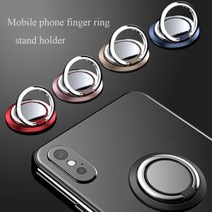 Telefone Finger Rotação Suporte Soquete 360 Anel Titular de Metal Phone Quality Stand Slim Cell Universal Acessórios Altos Nkkje