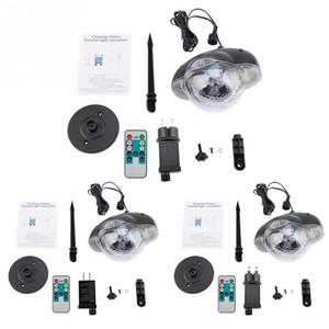 100-240 V Weihnachten Schneefall LED Disco Licht Lampe Moving Head DJ Licht Wasserdicht Schneefall Garten Party Licht mit Fernbedienung