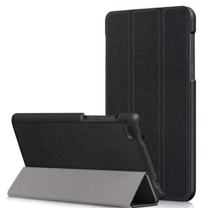 10pcs lot free shipping Luxury Smart Custer leather case for Lenovo Tab 7 Essential 7304F TAB E7 TB-7104F TB-7504F Tablet PC