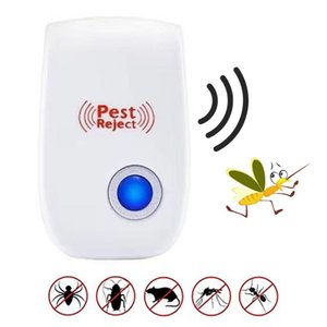 Ultrasonic Pest Repeller- [2020 upgrated] Pest Control Ultrasonic repelente - Electronic Insetos Roedores Repelente de Mosquito, Mouse, Co
