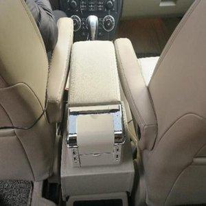 De alta qualidade caixa de console do carro de couro, caixa de braço, caixa de armazenamento, detém o caixão com USB para a Land Rover Freelander2 2007-2012
